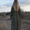 vestido indian bohemian verde 2
