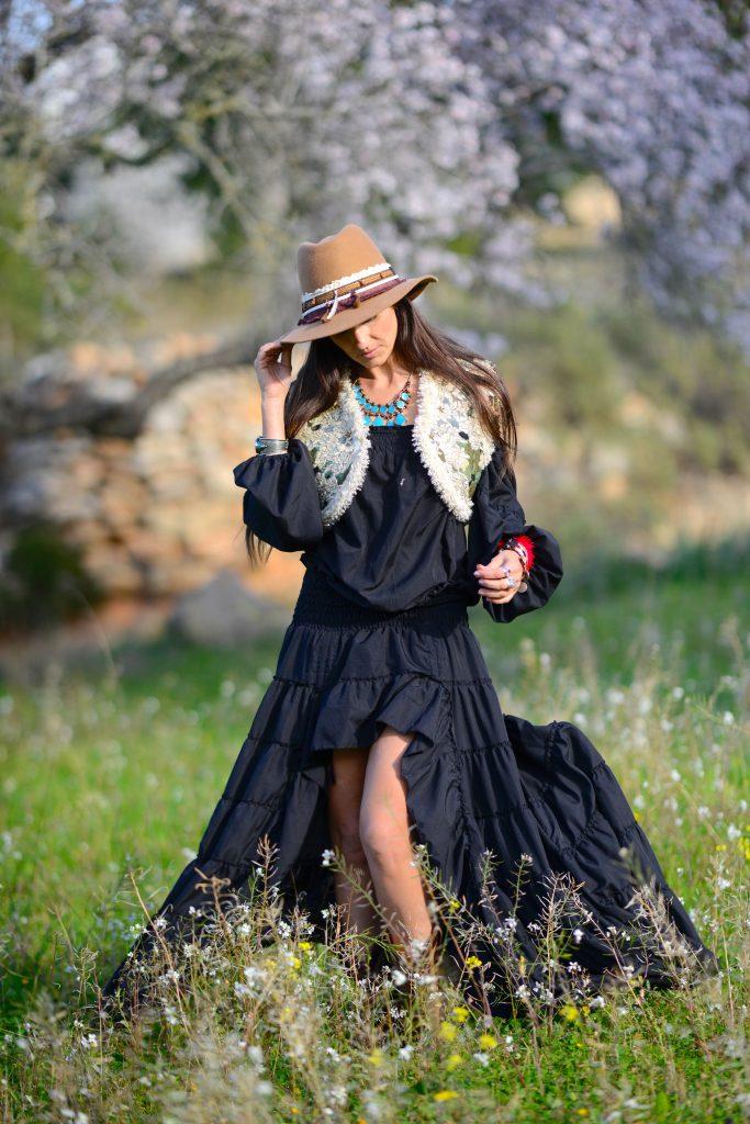 5cad075188781 winter dress on ibiza clouds natalia · Vestido asimetrico invierno Free  Love Ibiza Trendy
