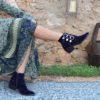 blue velvet cowgirl boots