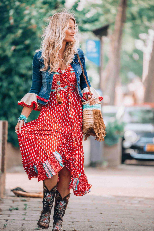 Tusi long wrap dress – Ibiza Trendy  8d102555533
