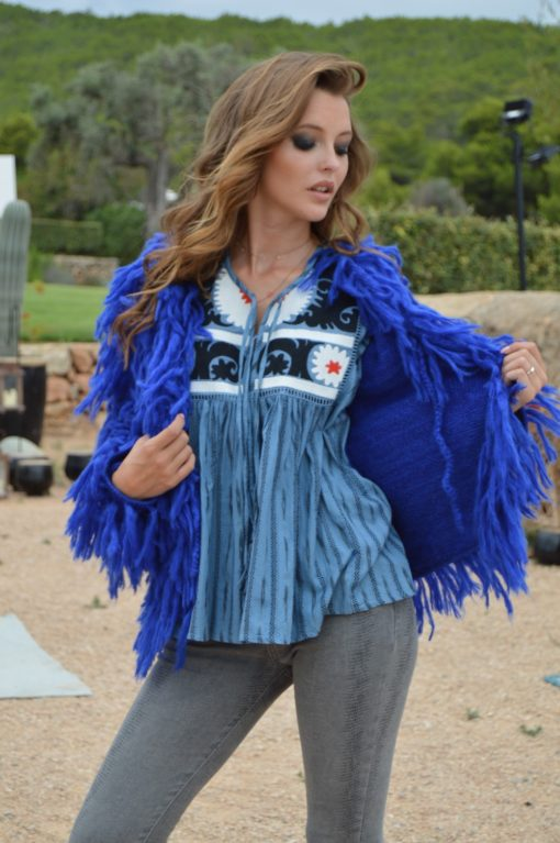 mystic blue blouse miss june ibiza