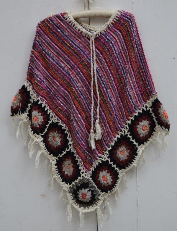 poncho cozy wool ibiza trendy 211