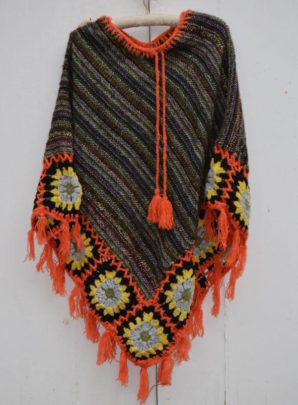 poncho lana cozy 180