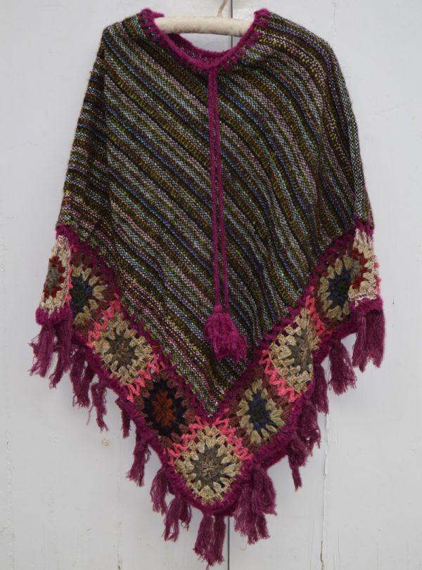 wool poncho ibiza trendy 294