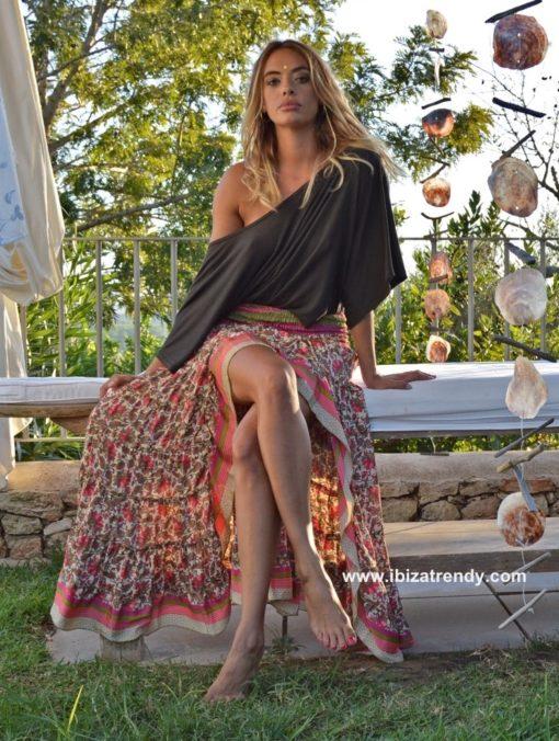 Falda-boho-chic-ibicenca-flores-vintage-rosa-free-Love-Ibiza-Trendy-shop