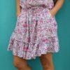 mini falda flores lavanda ibiza trendy