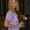 top flores vintage lavanda ibiza trendy