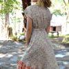 Vestido Ingrid ibiza trendy boho chic naranja