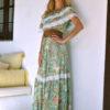 vestido butterfly verde ibiza trendy