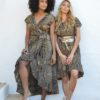 ibiza trendy animal print dresses