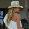 cowgirl hat turquoise strap