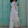 kimono puntillas blancas boho chic ibiza