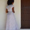 tusi polka dot dress boho chic ibiza