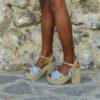 sandalias boho chic azules ibiza trendy lola guarch tacon esparto
