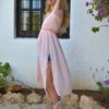 pink cover up ibiza trendy