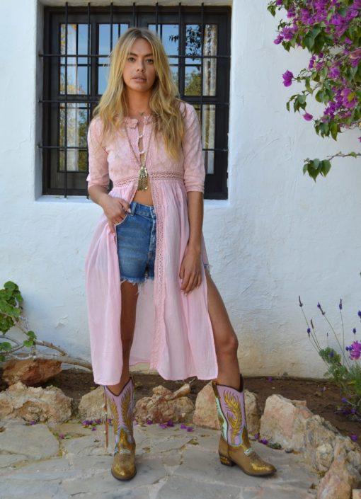 pink cover up ibiza trendy fioroni las dalias ibiza