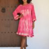 pink zebra dress izuskakn