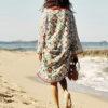 boho chic izuskan kimono ibiza trendy