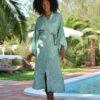 kimono xian pasly verde ibiza trendy boho chic