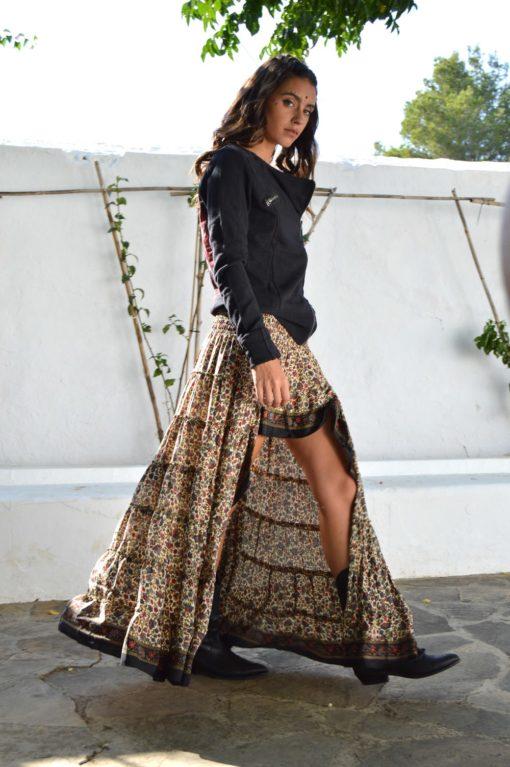 Falda imperial ibiza trendy