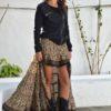 Plum skirt sweatshirt kimono ibiza trendy