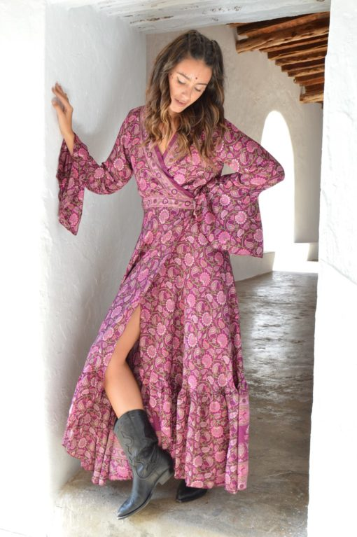 Kimono free love lilac garden